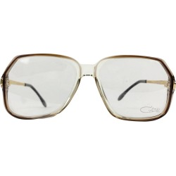 Cazal Vintage Eyeglasses 625 Clear Brown 56/17 140 Mm West Germany found on MODAPINS from 1stDibs for USD $408.55