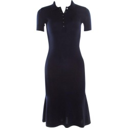 Ralph Lauren Navy Blue Cashmere And Silk Knit Polo Midi Dress Xs found on Bargain Bro Philippines from 1stDibs for $750.00