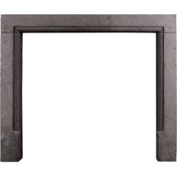 Simple Sandstone Fireplace