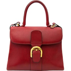 Delvaux Red Brillant Mm Bag And Strap found on MODAPINS from 1stDibs for USD $6086.28