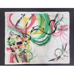 Grace Tatara, Mixed Media -- Untitled 3, Watercolor Series, 2006 found on Bargain Bro Philippines from 1stDibs for $650.00