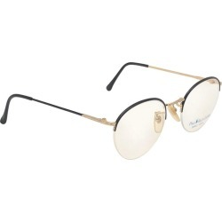 New Vintage Ralph Lauren Classic Half Frame Black & Gold Rx 1990 Sunglasses found on Bargain Bro Philippines from 1stDibs for $389.00