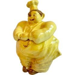 Pierre Chef Redwing Cookie Jar found on Bargain Bro India from 1stDibs for $175.00