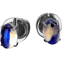 Moonstone Earrings Gold Fine Jewelry Studs Mens Unisex Jewelry Gemstone Vca Art found on Bargain Bro Philippines from 1stDibs for $4214.74