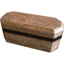 Vintage Tessellated Stone Octagonal Box By Renoir Designs