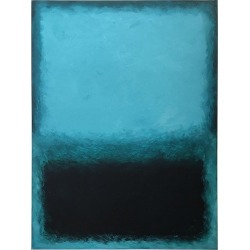 Deep Ocean, Contemporary Color-field Abstract By Benjamin Casiano found on Bargain Bro Philippines from 1stDibs for $4800.00