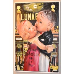 Cesar J. Santander, Last Dance At Luna Park -- Original Oil Painting -- Please watch attached video, 2009 found on Bargain Bro Philippines from 1stDibs for $12000.00