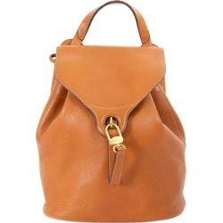 Delvaux Camel Leather Pm Backpack found on MODAPINS from 1stDibs for USD $725.72