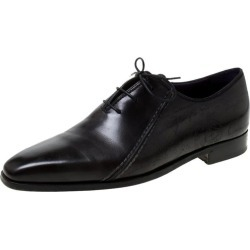 Berluti Black Leather Lace Up Oxfords Size 42.5 found on MODAPINS from 1stDibs for USD $1219.00