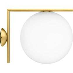 Michael Anastassiades Ic2 Modern Brass & Glass Ceiling & Wall Sconce For Flos found on Bargain Bro Philippines from 1stDibs for $695.00