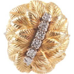 Diamond Yellow Gold Ring found on Bargain Bro India from 1stDibs for $3000.00