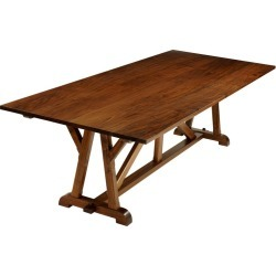 architects Table Classic Arts & Crafts Dining Table In Walnut