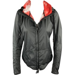 Kru Size 4 Black & Red Polyamide Reversible Hooded Jacket found on MODAPINS from 1stDibs for USD $418.00