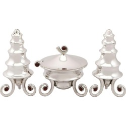 Sterling Silver And Gemset Condiment Set, Contemporary, 1995 found on Bargain Bro Philippines from 1stDibs for $2390.77