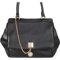 Dolce & Gabbana Black Leather Large Shoulder Bag found on Bargain Bro India from 1stDibs for $1190.00