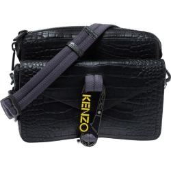 Kenzo Black Croc Embossed Leather Hiker Crossbody Bag found on MODAPINS from 1stDibs for USD $560.00