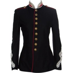 Ralph Lauren Black Cotton Twill Metallic Cord Embellished Military Jacket S found on Bargain Bro Philippines from 1stDibs for $838.00