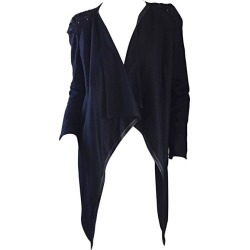 Givenchy By Ricardo Tisci Black Runway Cardigan Sweater W/ Jeweled Shoulder found on Bargain Bro India from 1stDibs for $950.00