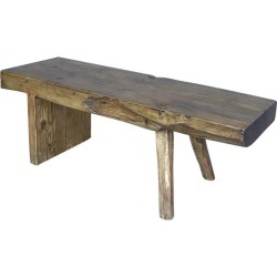 Rustic Reclaimed Wood Bench found on Bargain Bro India from 1stDibs for $2795.00