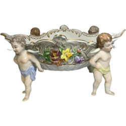 Dresden Porcelain Centerpiece found on Bargain Bro Philippines from 1stDibs for $375.00