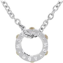Movado Diamond Circle Necklace