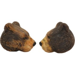 Michael Kanners Finely Carved Bear Cufflinks found on Bargain Bro Philippines from 1stDibs for $5800.00