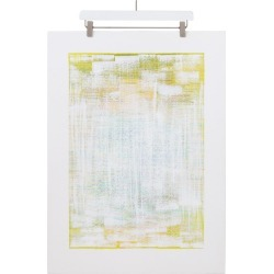 eisco Sulfur, Original Mixed-media Painting On Paper