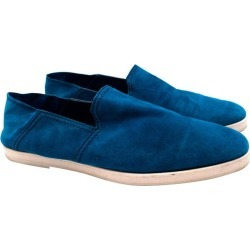 Berluti Blue Suede Loafers - Size Eu 44 found on MODAPINS from 1stDibs for USD $334.87