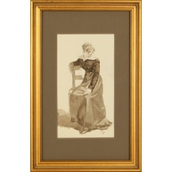 Unknown, Original French Watercolor , 18th Century found on Bargain Bro Philippines from 1stDibs for $600.00