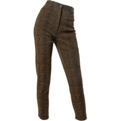 Emanuel Ungaro High Waisted Vintage Snakeskin Print Pants, 1990s found on MODAPINS from 1stDibs for USD $350.00