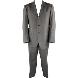 Burberry London Size 42 Regular Dark Gray Wool Notch Lapel Suit found on Bargain Bro India from 1stDibs for $477.40