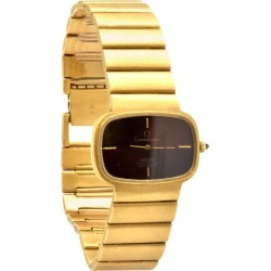 Omega Constellation Rare 18 Karat Yellow Gold Retro Watch found on MODAPINS from 1stDibs for USD $6500.00