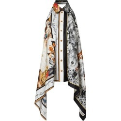Burberry Animalia Print Scarf Panel Bodysuit - Size Xs found on Bargain Bro India from 1stDibs for $597.89