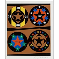 Robert Indiana, Tilt from the American Dream Portfolio, 1997 found on Bargain Bro Philippines from 1stDibs for $3000.00