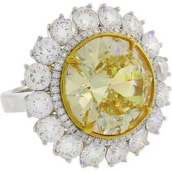 Fancy Intense Yellow Diamond White Gold Ring 10.04 Carat Vs2 Gia found on Bargain Bro Philippines from 1stDibs for $350000.00