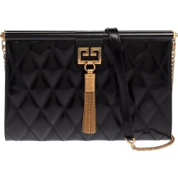 Givenchy Black Quilted Leather Medium Gem Shoulder Bag found on Bargain Bro from 1stDibs for USD $504.64