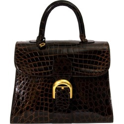 Delvaux Brown Croco Brillant Mm found on MODAPINS from 1stDibs for USD $13367.87