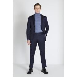 Reda Slim Fit Navy Twill Jacket found on Bargain Bro UK from Moss Bros Retail