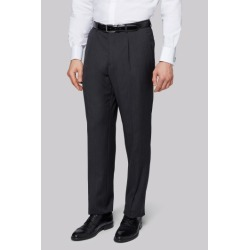 Moss Bros Charcoal Herringbone Regular Fit Trousers found on Bargain Bro UK from Moss Bros Retail