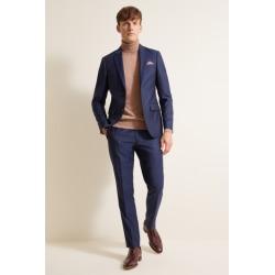 DKNY Slim Fit Blue Sharkskin Jacket found on Bargain Bro UK from Moss Bros Retail