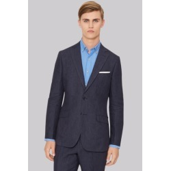 Hardy Amies Navy Linen Jacket found on Bargain Bro UK from Moss Bros Retail