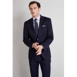 Moss Esq. Regular Fit Navy Stripe Jacket found on Bargain Bro UK from Moss Bros Retail