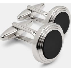Moss 1851 Black Onyx Round Cufflinks found on Bargain Bro UK from Moss Bros Retail