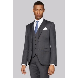 DKNY Slim Fit Dark Charcoal Texture Jacket found on Bargain Bro UK from Moss Bros Retail