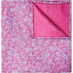 Moss 1851 Pink & Blue Floral Swirl Pocket Square found on Bargain Bro UK from Moss Bros Retail