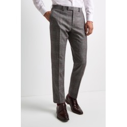 Moss 1851 Tailored Fit Black & White with Red Check Trousers found on Bargain Bro UK from Moss Bros Retail