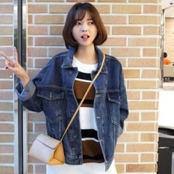 Oversized Denim Jacket found on Bargain Bro India from yes style for $31.26