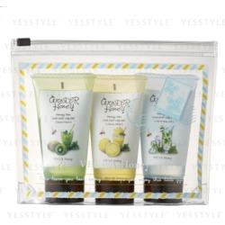 Vecua Honey - Wonder Honey Honey Dew Cooling Leg Gel Set: Kiwi Mint 40g + Citrus Mint 40g + Mint Squash 40g 3 pcs