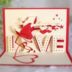 Pop-Up Valentines Day Card