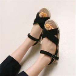Flat Espadrille Sandals